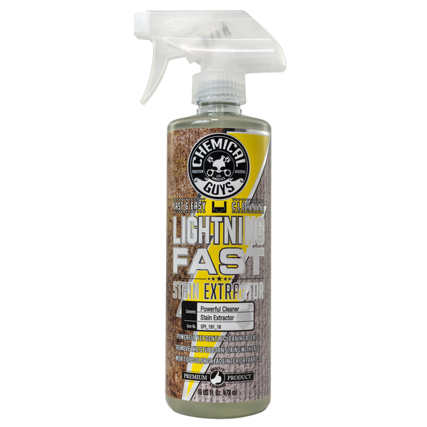Lightning Fast Carpet+Upholstery Stain Extractor Cleaner & Stain Remover