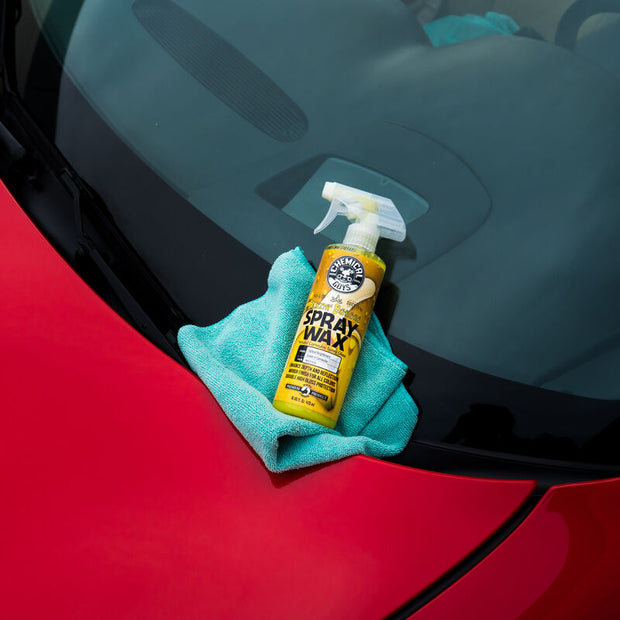 Blazin' Banana Natural Carnauba Spray Wax (16 oz)