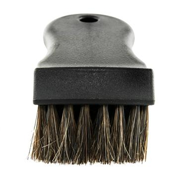 Premium Select Horse Hair Interior Cleaning Brush for Leather, Vinyl, Fabric and More