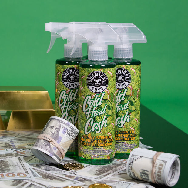 COLD HARD CASH MONEY SCENTED AIR FRESHENER 4oz/118ml