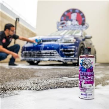 Extreme Bodywash & Wax Car Wash Soap with Color Brightening Technology, 16 fl. oz