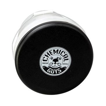 Chemical Guys-Bucket Lid Cap. Black With White Printed Logo (1 Unit)