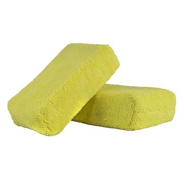 Yellow - Microfiber Applicator Premium Grade (2 Pack)