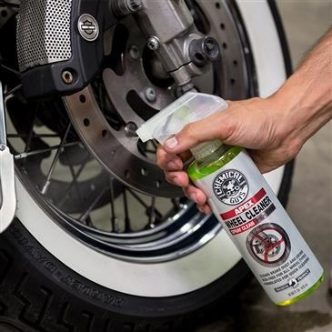 Apex Wheel Cleaner  Spray On, Wipe Off Wheel and Tire Cleaner for Motorcycles(4 oz)