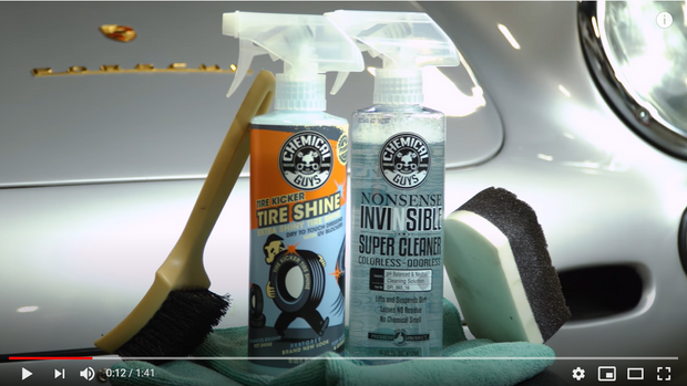 Make Tyre Shine Last Kit - Clean and shine