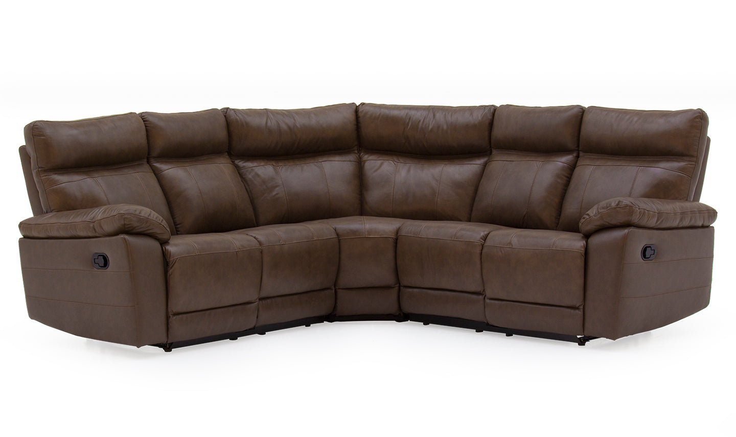 Corner Group Sofa Leather - Brown