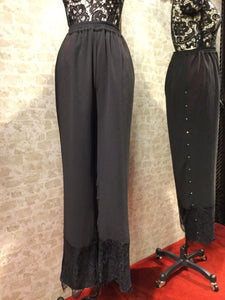 Lace Pants w/Crystal