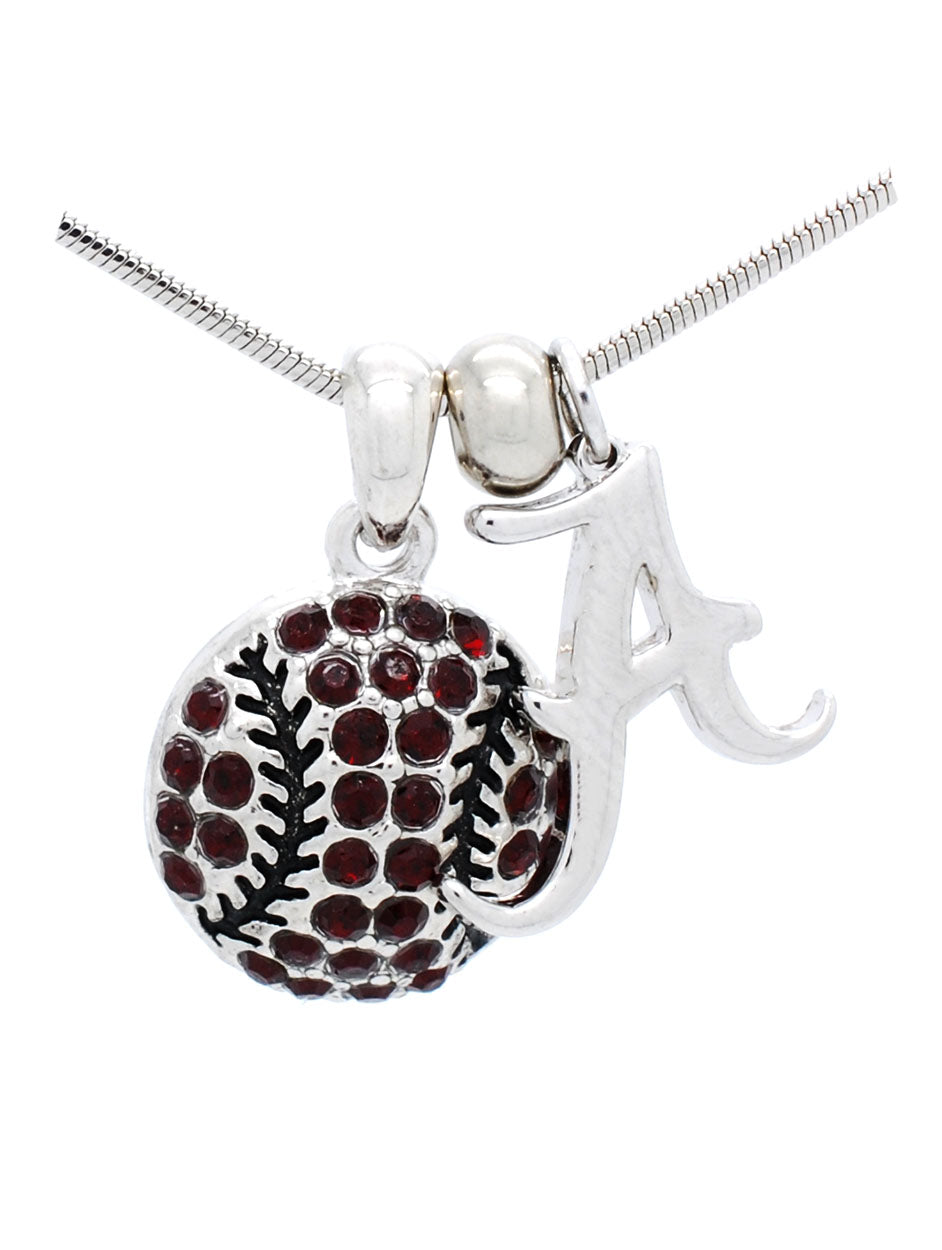 Alabama Baseball/Softball Necklace