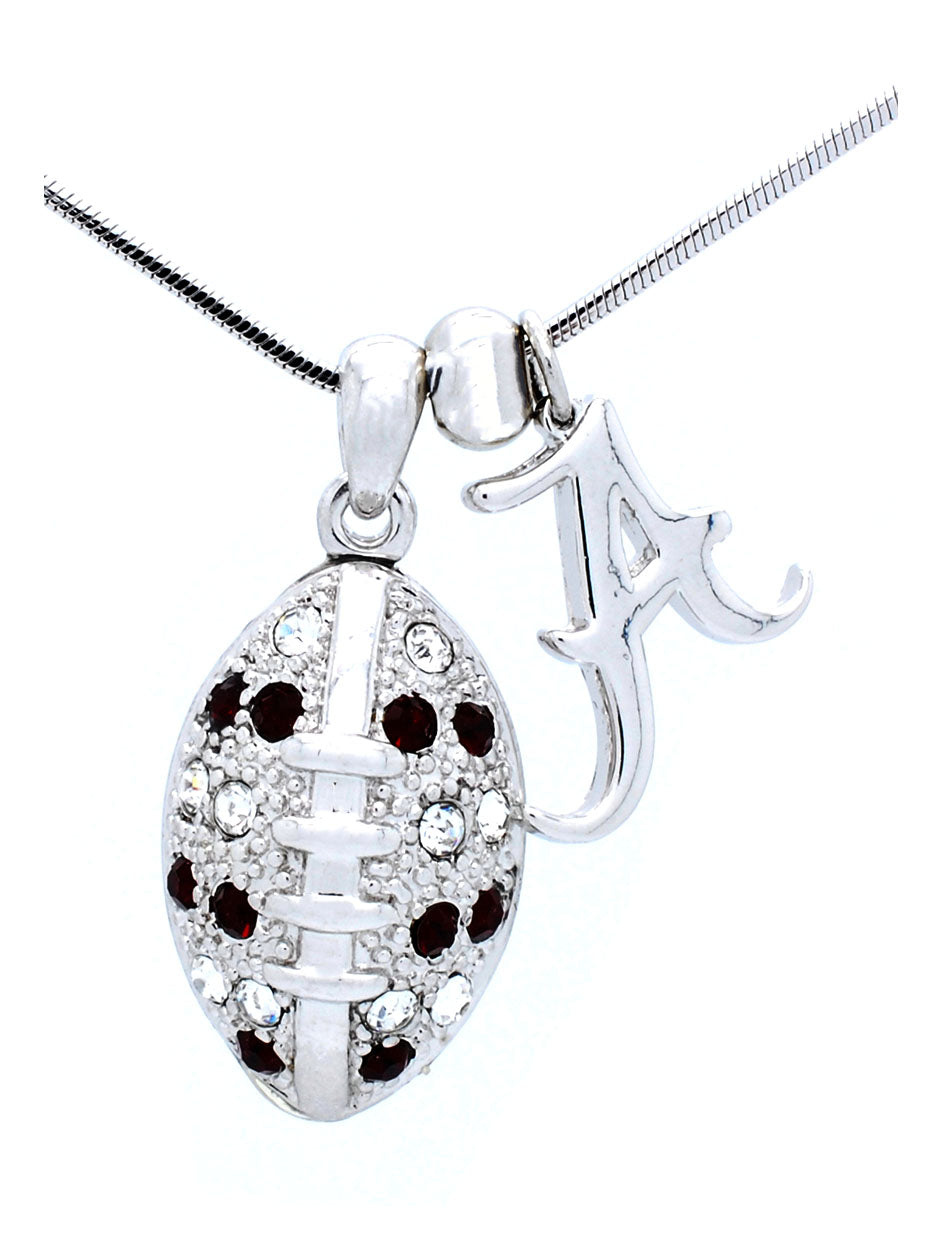Alabama Large Football Necklace