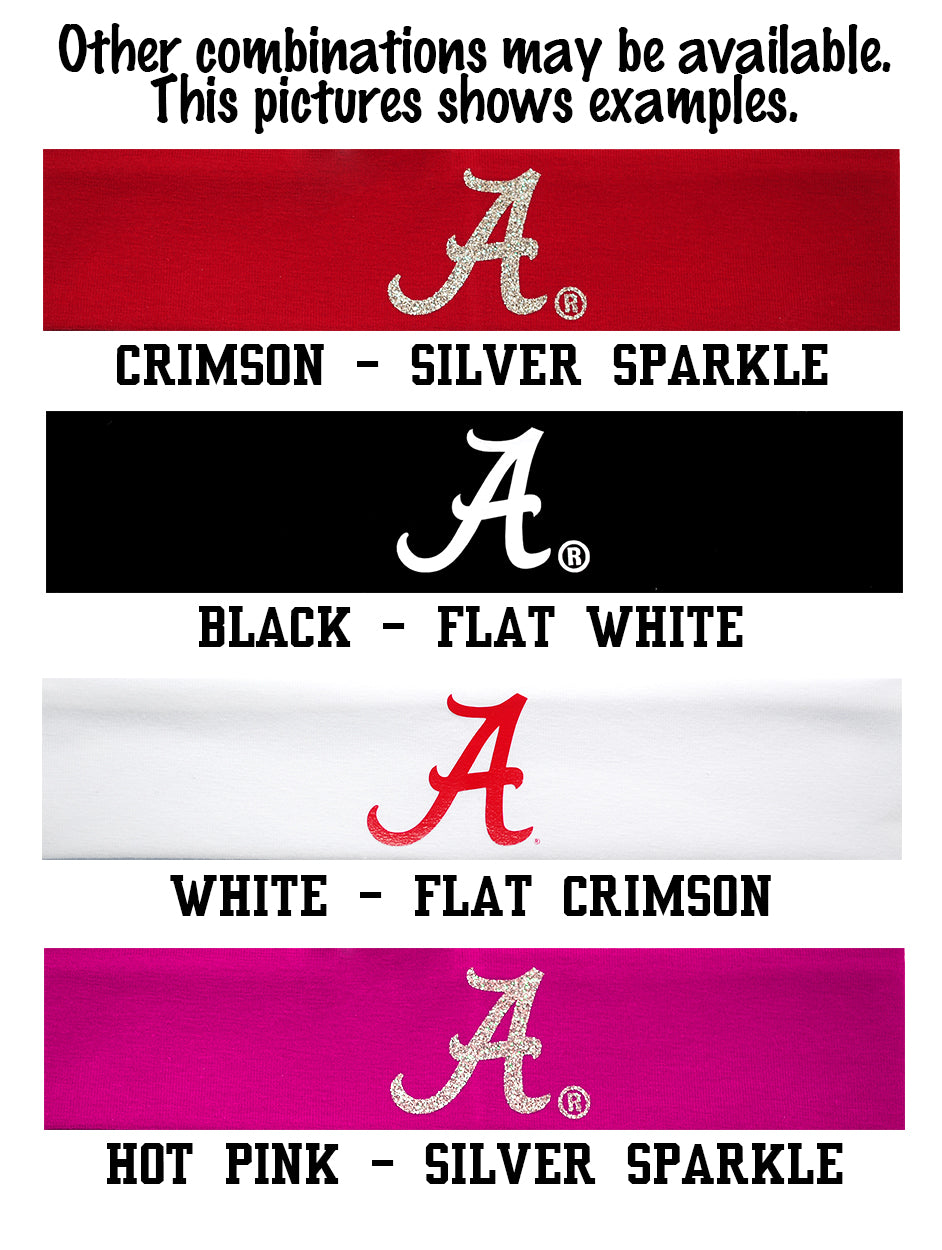 Alabama Logo Headband - Choose Your Style