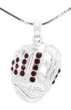 Baseball/Softball Glove Necklace - Large