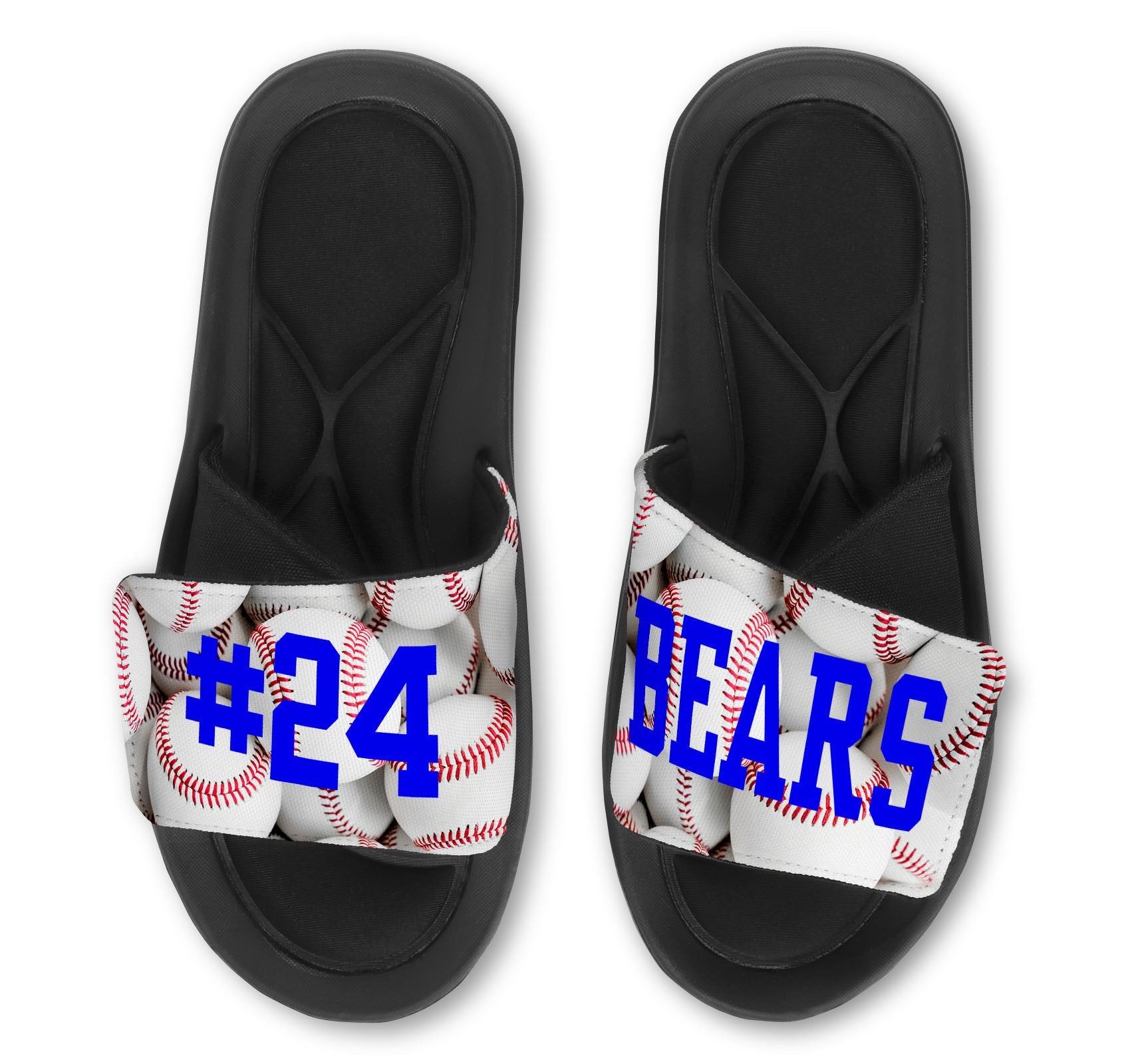 Baseball Slides - Customize with Your Name & Number