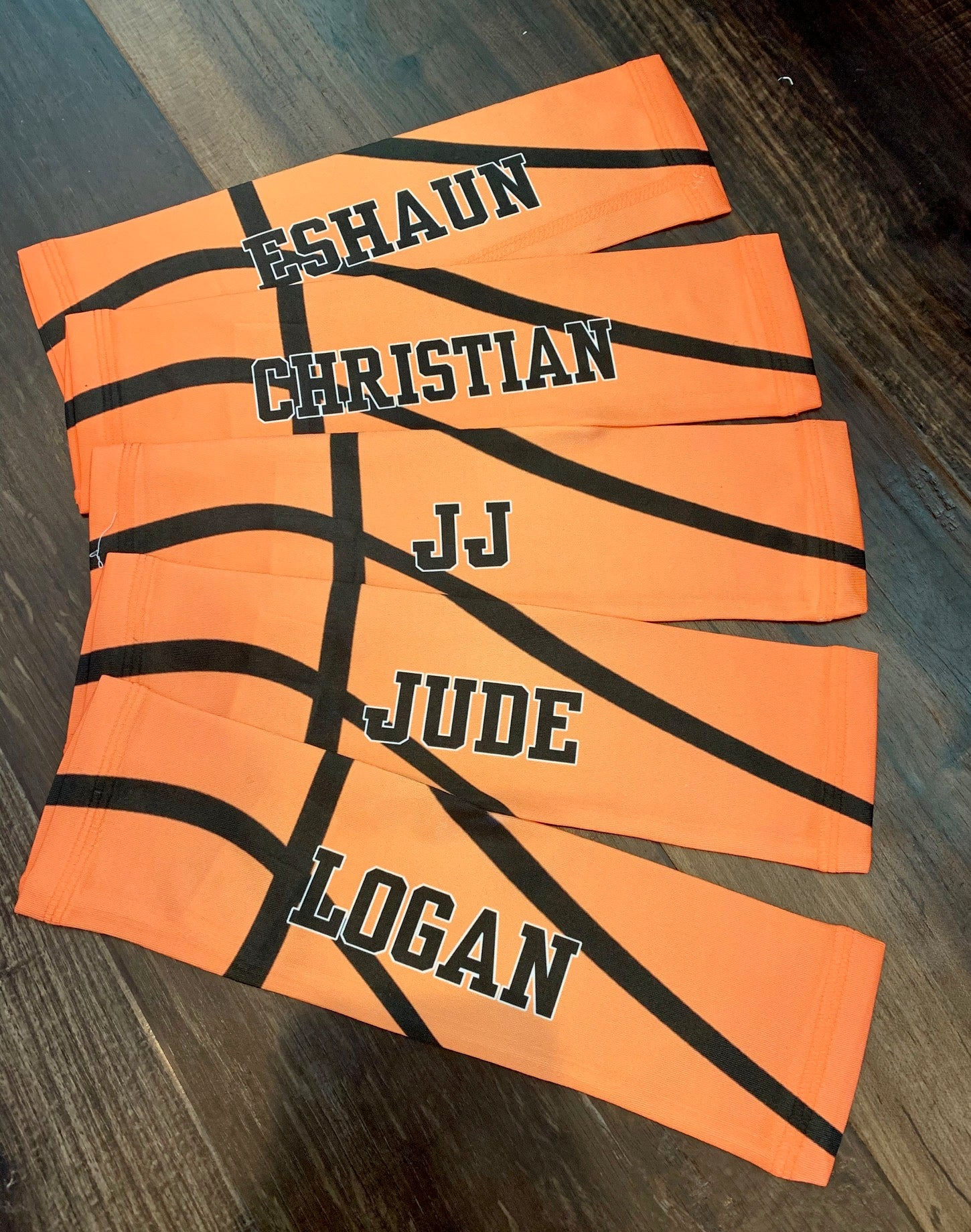 Custom Basketball Sleeves - Sublimation - Add Your Name/Number/Team!!