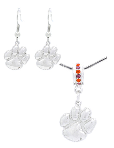 Deluxe Necklace & Earring Pendant Set