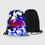 Personalized Camo Drawstring Bag