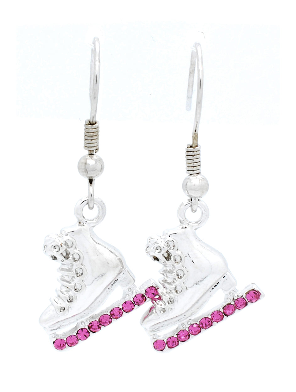 Figure Skate Earrings - DANGLE