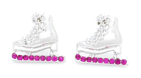 Figure Skate Earrings - POST