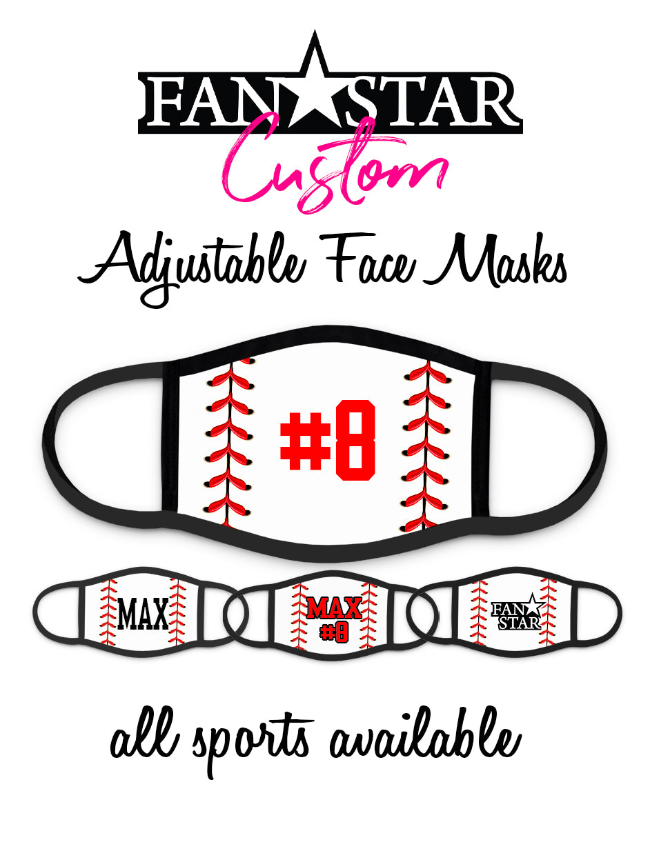 Baseball Face Mask Laces - Add Your Personalization!