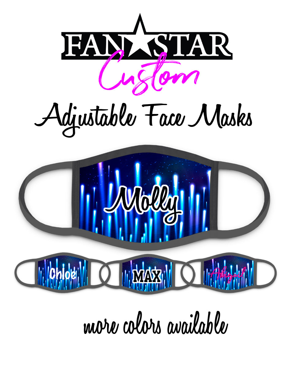 Custom Night Lights Face Mask - Add Your Personalization!