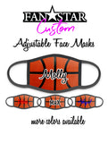 "Custom Basketball Face Mask - ""Real"" Basketball - Add Your Personalization!"
