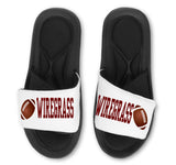 FOOTBALL Slides - Customize with Your Name and/or Number