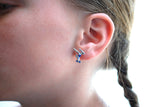 Gymnast POST Earrings - Beam