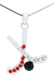 Hockey Stick Necklace - Large Two Color