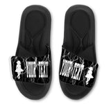 Irish Dancer Custom Slides / Sandals -Lightning