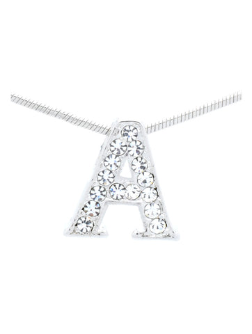 Letter A Necklace