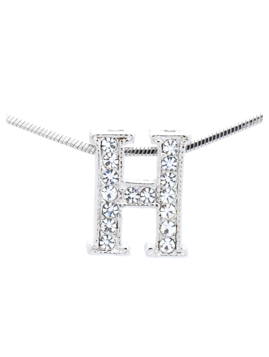 photo about H&r Block Coupon Printable named Letter H Necklace