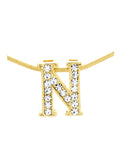 Letter N Necklace