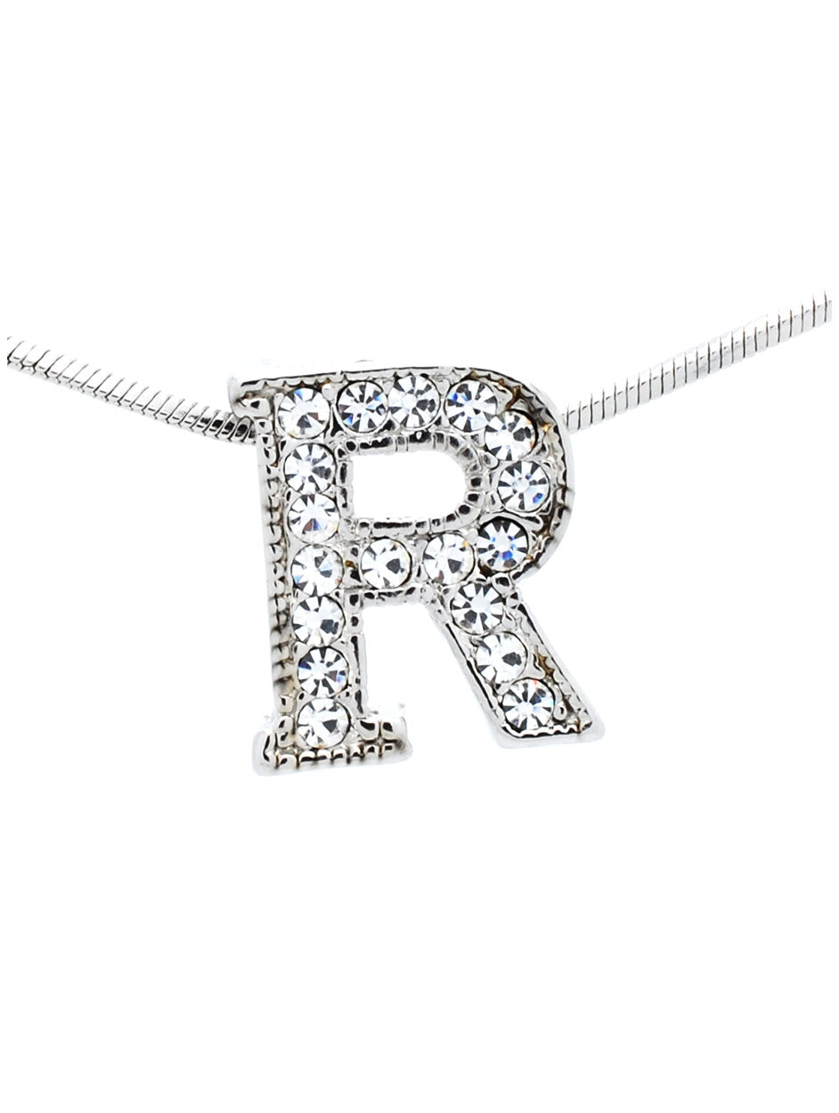 Letter R Necklace