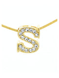 Letter S Necklace