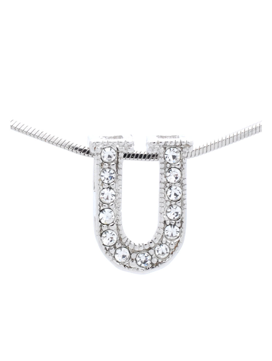 Letter U Necklace