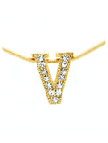 Letter V Necklace