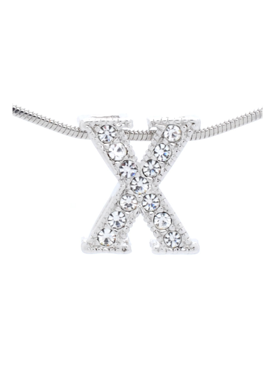 Letter X Necklace