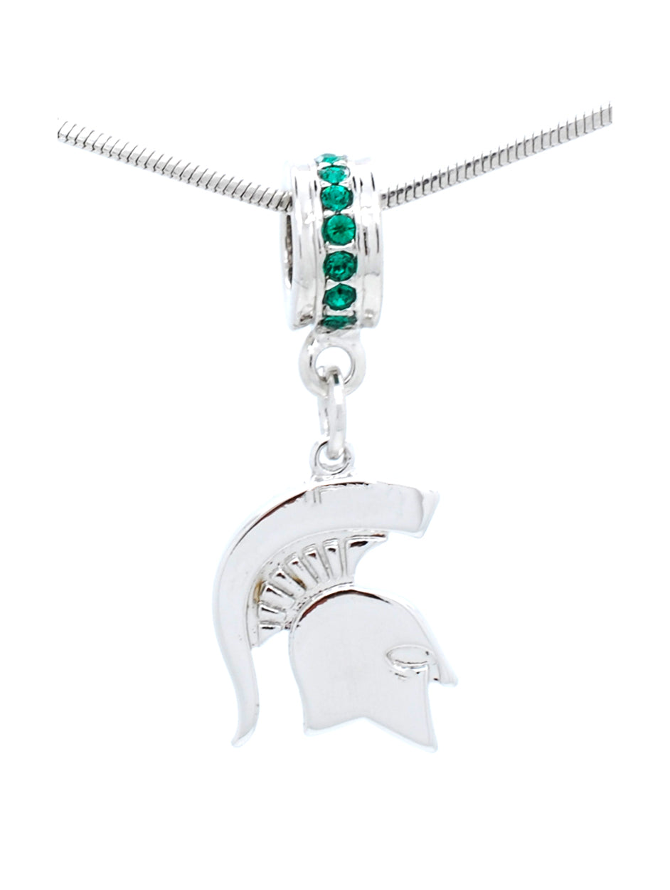 Michigan State Deluxe Pendant Necklace