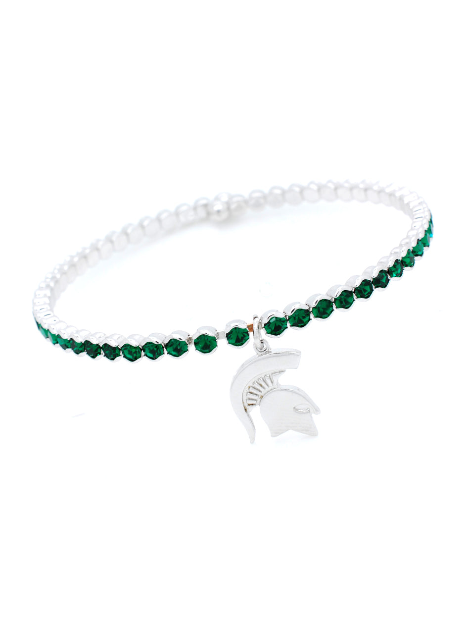 Michigan State Deluxe Flex Bracelet