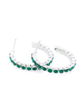 Hoop Earrings - Green