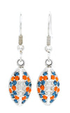 Football Earrings - Two Colors