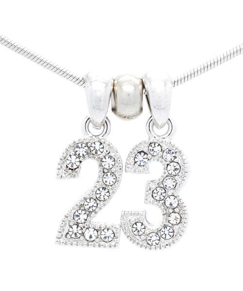 Number Pendant Charms