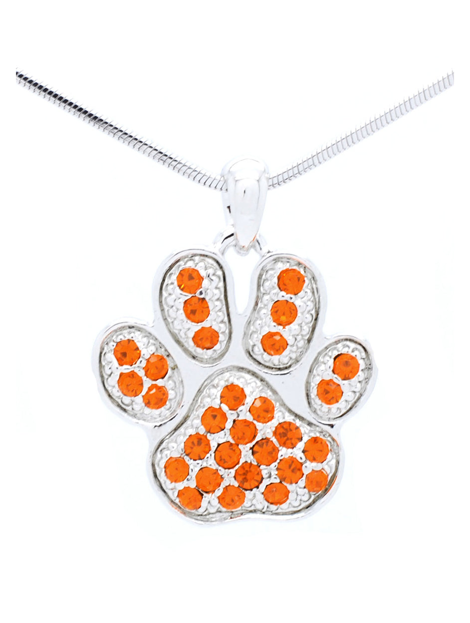 Paw Print Necklace - Large