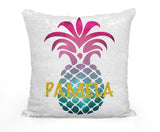 PERSONALIZED PINEAPPLE MERMAID SEQUIN FLIP PILLOW