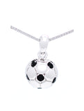Soccer Ball Necklace - Half Ball