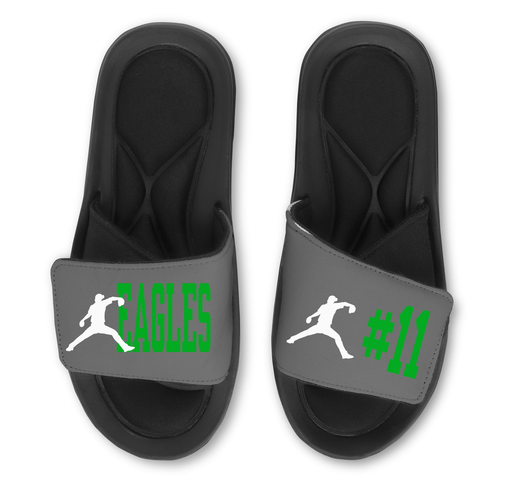 Baseball Custom Slides / Sandals - Choose Your Colors