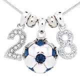 Soccer Ball Necklace - Large