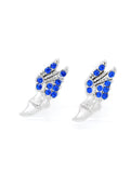 Track Winged Foot Earrings - POST