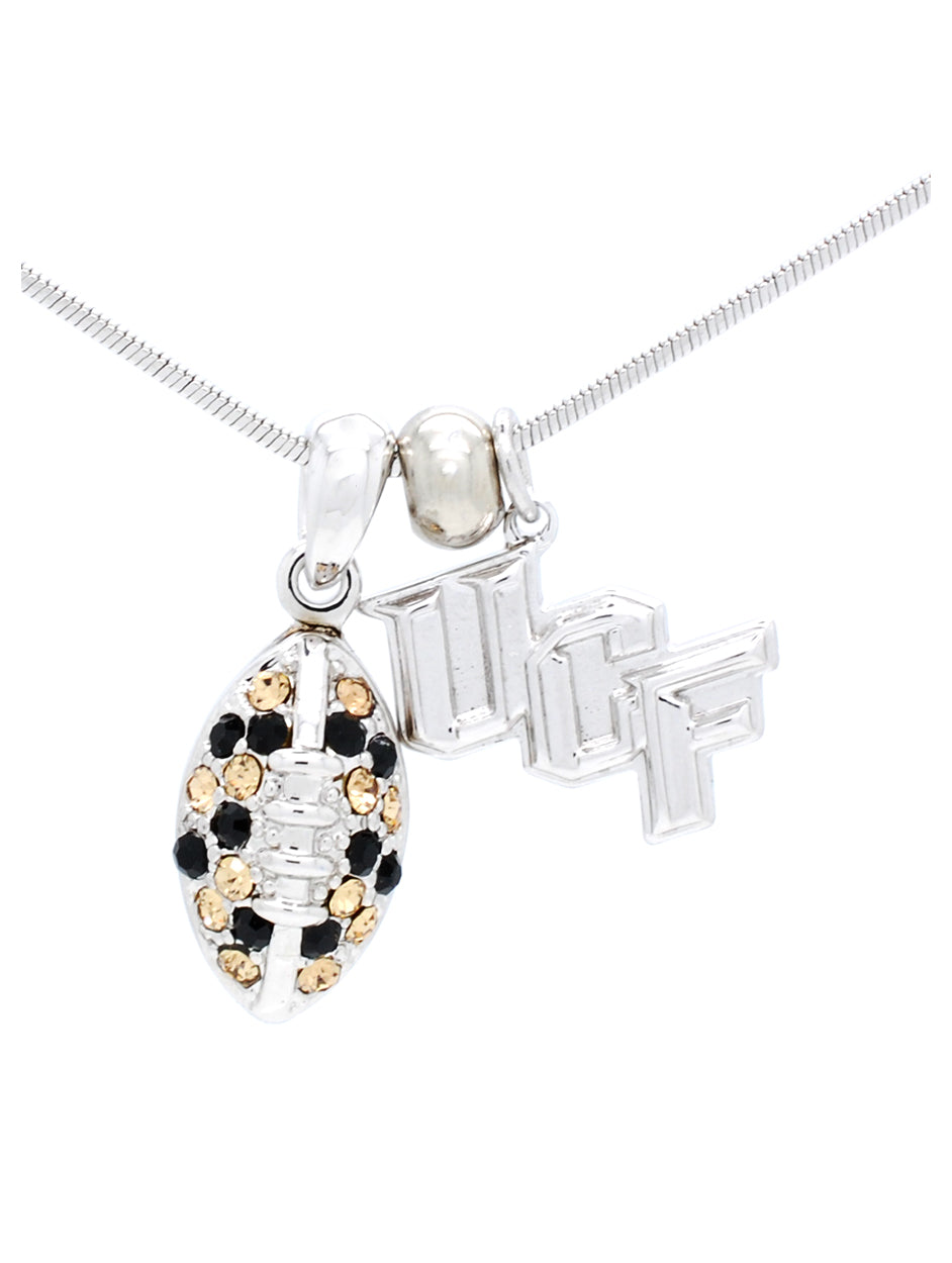 UCF Mini Football Necklace