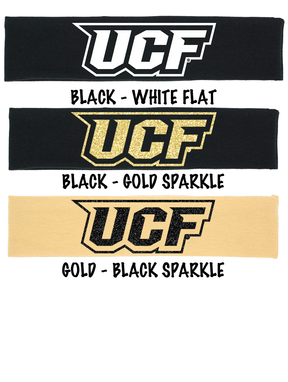 UCF Logo Cotton Headband - Choose Your Style