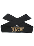 UCF Tie Headband - Black/Gold Sparkle